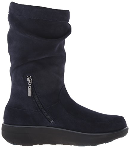 Stivaletto Da Donna Slim Fit In Morbida Pelle Scamosciata Fitflop Super Navy