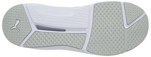 Puma Damen Felle Eng Mesh Hohe Sneakers Grau (grijs Violet-puma Wit)