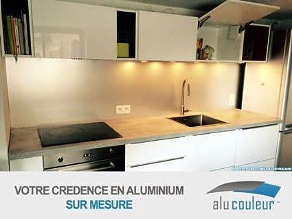 Credenza Da Cucina Acciaio : Alucouleur credenza da cucina in anodizzato mm su misura h