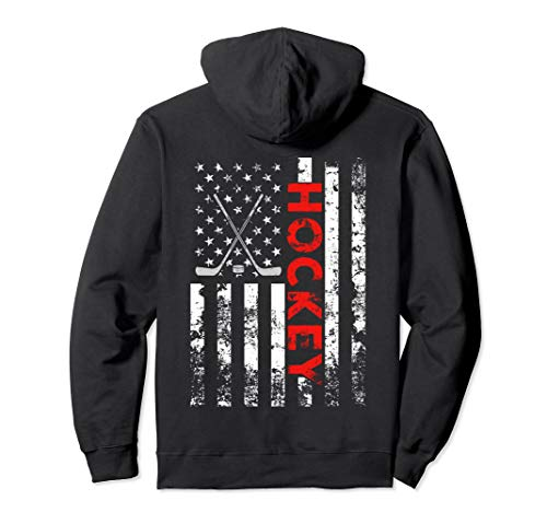 American Flag Hockey USA Patriotic -