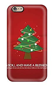 New Arrival Iphone 6 Case Merry Christmas Tree Case Cover