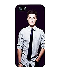 Josh Hutcherson Rubber Custom Durable Fashionable Perfect Design High Quality TPU Silicone Case Cover Skin For Apple iphone 4 4s , WilsonShop Rubber iphone 4 4s Case