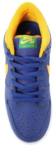Nike Sb Dunk Low Pro - Deep Royal Blue/gold/pine Green Sz 5 YMztHuiMz2