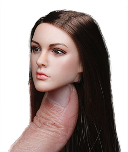 Phicen 1/6 Scale Head Sculpt with Hair for 12