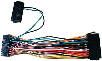 24-pin to Dual 24-pin ATX Power Supply Connectors Splitters Dual-PSU ATX Adapter