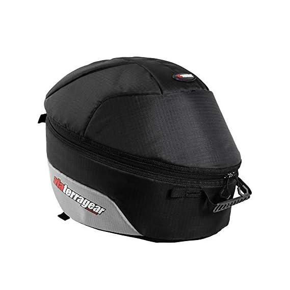 ViaTerra Essentials Full Face Helmet Bag (Black Grey)