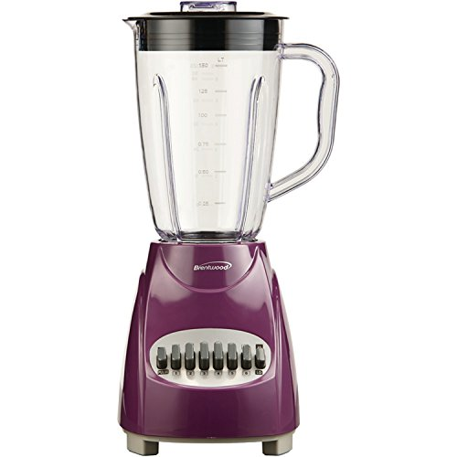 (Brentwood  JB-220PR  12-Speed  +  Pulse  Blender,  Purple)