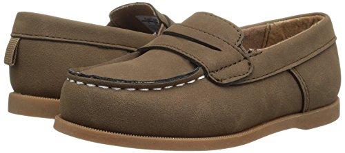 Pictures of Carter's Boys' Simon4 Slip-On Boat Brown 7 M US Toddler 4