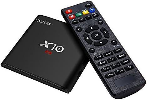 Docooler VALISEN X10 Smart Android 7.1.2 TV Box Amlogic S905W Quad ...