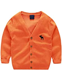 184577d9c1 Cotton Kids Cardigan Boys Girls Cardigan Sweaters Spring Outerwear 2-7Years