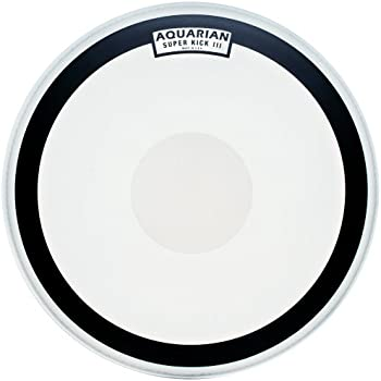 aquarian drumheads skiii20 super kick iii single 20 inch bass drum head with dot. Black Bedroom Furniture Sets. Home Design Ideas