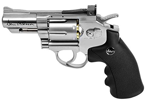 "Dan Wesson ASG 2.5"" CO2 Powered Air Revolver, Silver"