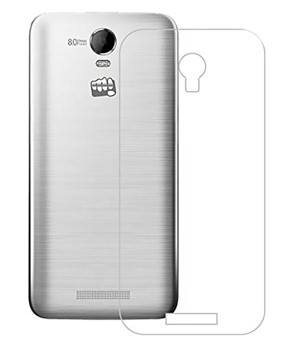 buy popular 0b61f 00355 PARRK Hard Shell Transparent Back Cover For Micromax A190 Canvas HD ...