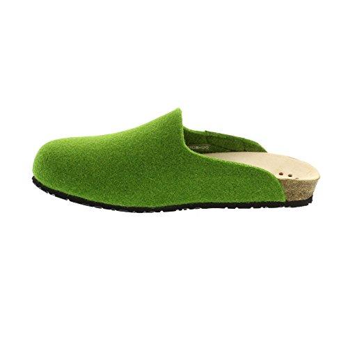 De Para Casa Verde Zapatillas Tela Estar Por Mephisto Mujer Yxw65qZFCC
