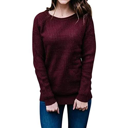 Xinantime Knitted Wrap Sweater Women Winter Warm Coat Tunic