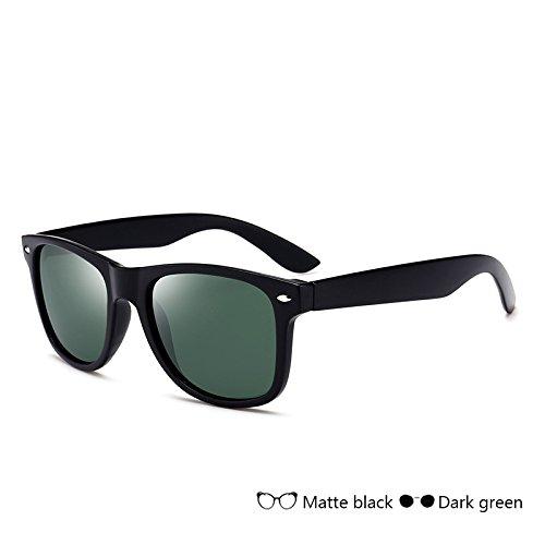 Dark gafas del Vintage hombre para de gafas de Sunglasses polarizadas nocturna Gafas Gafas conducción azul green TL de visión sol hombre SHXq46
