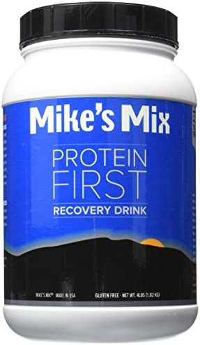 Mike s Mix Protein First Recovery Drink 4 lbs-Chocolate, Real Food Product, Simple and Natural