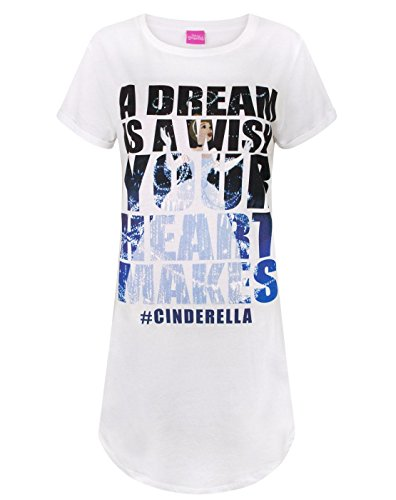 Disney Cinderella Dreams Longline Women's T-Shirt