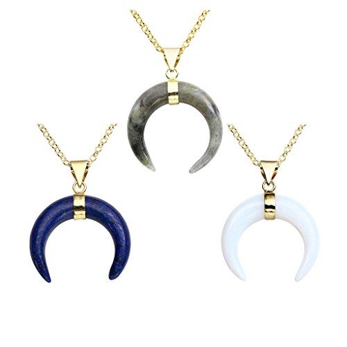 Horn Crystal Pendant - 8