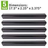 XHome 17.5 Flavorizer Bars Grill Heat Plate Replacement for Weber Genesis Grill Parts (Genesis 300 Series with Front-mounted Control Panels) (5 Pack)
