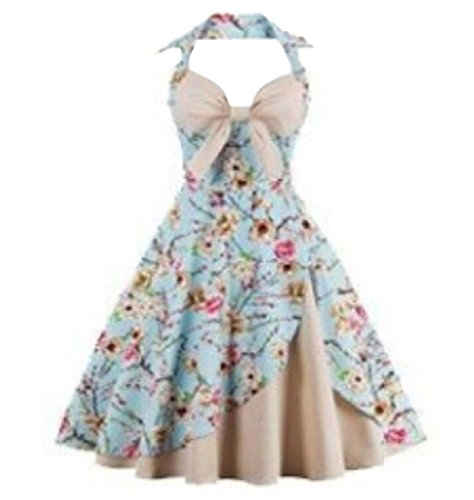 Plus Vogue Womens Evening Neck Size Sexy Apricot Coolred Dresses Halter Bow Party B6q1xw