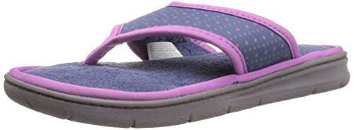 on Nylon Perfed Women's Slipper Thong Indigo Dearfoams Slip Xf4qp4