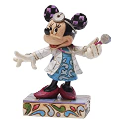 Enesco Disney Traditions by Jim Shore Doctor/RN Minnie Figurine