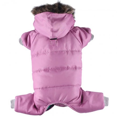 XS chest 31-33cm, back 18-20cm Doggydolly 4 legs pink hoodie