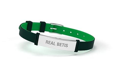 Real Betis Balompié Pulsera Fashion Verde Ajustable para Hombre ...
