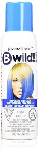 Bwild Color Spray, Bengal Blue, 3.5 Ounce -