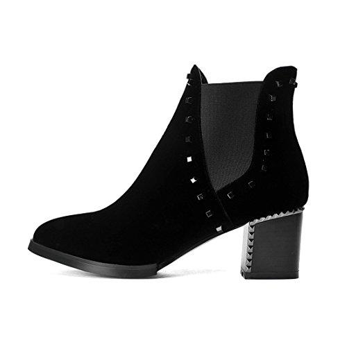 YL Women's Boots black black 0m8Ic2G