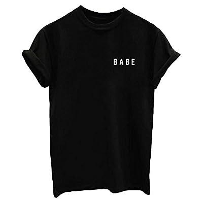 Mom's care Letter Print Cute Women's Tops Teen Girl Funny T Shirt