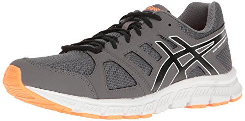 ASICS Men's Gel-Unifire TR 3 Cross-Trainer Shoe, Carbon/Black/Hot Orange, 6.5 M US
