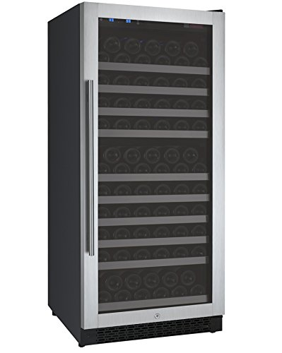 Allavino VSWR128-1SSRN - 128 Bottle Single Zone Wine Refrigerator with Right...