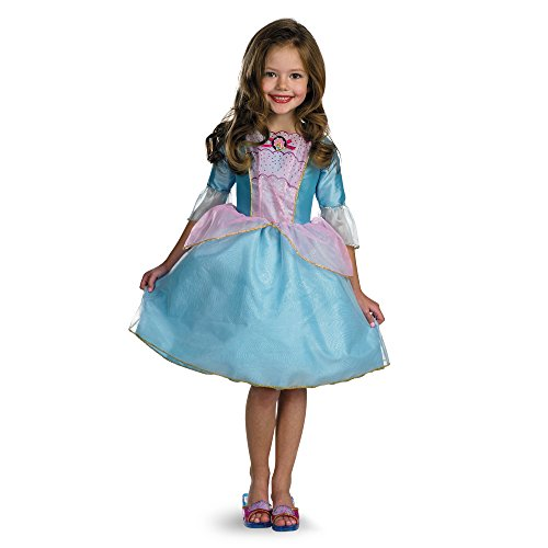 (Barbie Princess Rosella Child Halloween Costume Size)