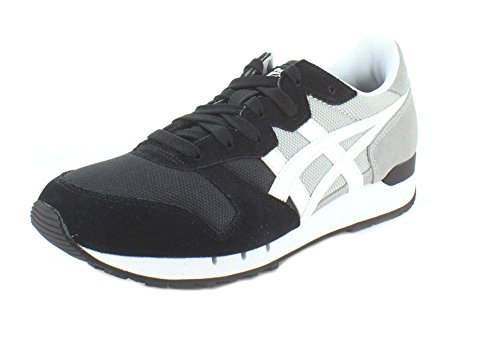 Onitsuka Tiger Mens Alvarado Fashion Sneaker Mid Grey/White Bx2Mi8gxCp