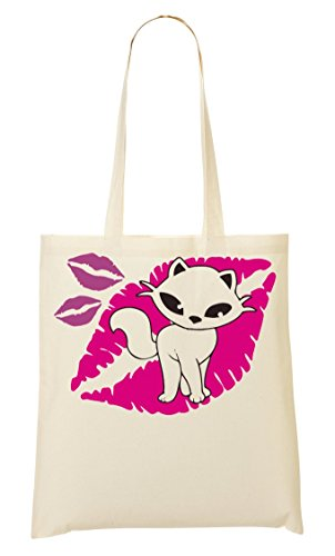 Wants Fourre Kitten Cute Kiss A Provisions Sac À Tout Sac Zqvn64x