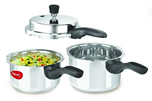 Pigeon-Induction-Base-Outer-Lid-Stainless-Steel-Pressure-Cooker-Combo-2L-3L-Silver