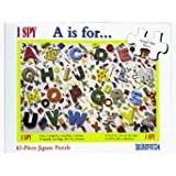 I SPY A is For Jigsaw Puzzle 63pc