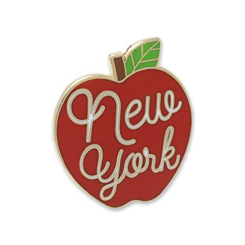 WIZARDPINS New York City The Big Apple Tourist Souvenir Enamel Pin– 1 Pin