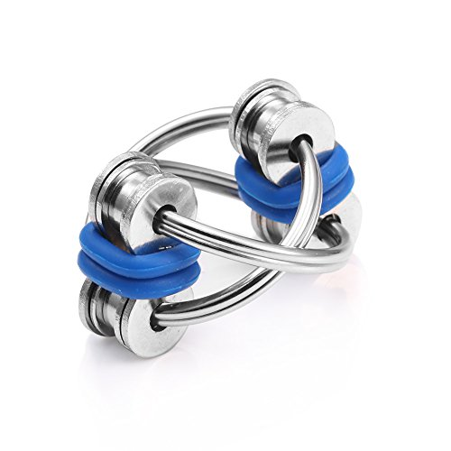 Flippy Chain Fidget Toy Stress Reducer For ADHD,Anxiety,and Autism Boredom your Finger Tips -