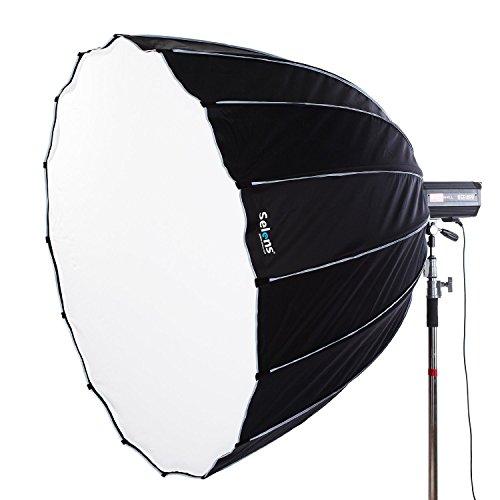Selens 75 Inch 16 Rods Portable Umbrella Brolly Reflector Octagon Softbox with Profoto Mount For Studio Photo Flash - Studio Flash Profoto