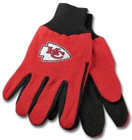 Kansas City Chiefs Two Tone Gloves - Kansas City Chiefs Glove