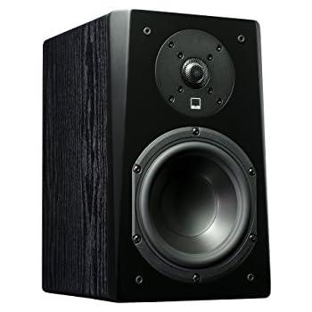 SVS Prime Bookshelf Speaker Pair Premium Black Ash