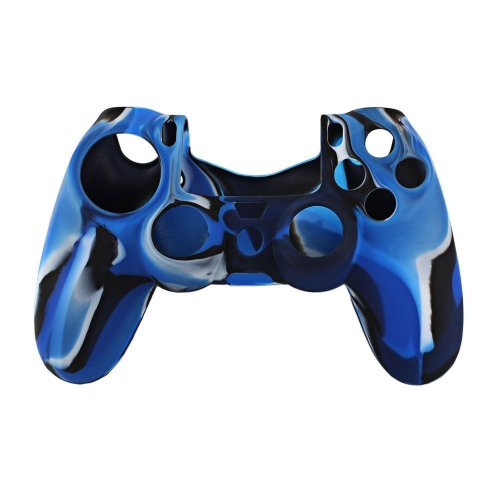 silicone-skin-protective-cover-for-ps4-playstation-4-controller-camouflage-blue