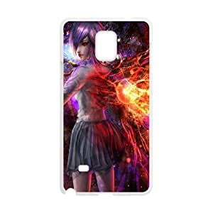 Tokyo Ghoul Samsung Galaxy Note 4 Cell Phone Case White Cover protective Skin Shield PJZ003-2298009