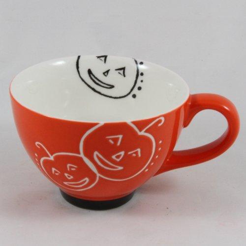 Starbucks Coffee 2007 Orange Halloween Pumpkin Cup, 10 fl oz -