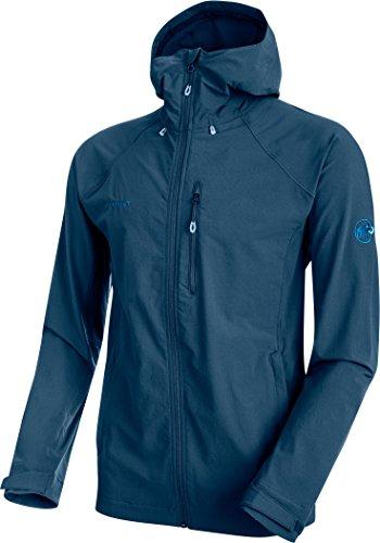 (Mammut Men's Runbold Trail SO Hooded Jacket, Jay, Medium, 1011-23171-50011-114 )