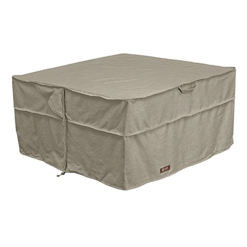 Classic Accessories 55-666-016701-RT Montlake FadeSafe Full Coverage Square Fire Pit/Table Cover, 42-inch Review