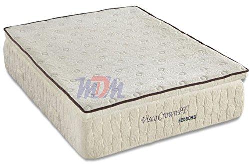 *All Sizes* Pilllow Top, Plush (Soft) Memory Foam Mattress - Bed Boss Crown - Free Shipping (King)